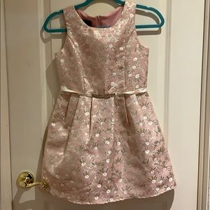 BCX Gently Used Pink Dress Girls Size 12